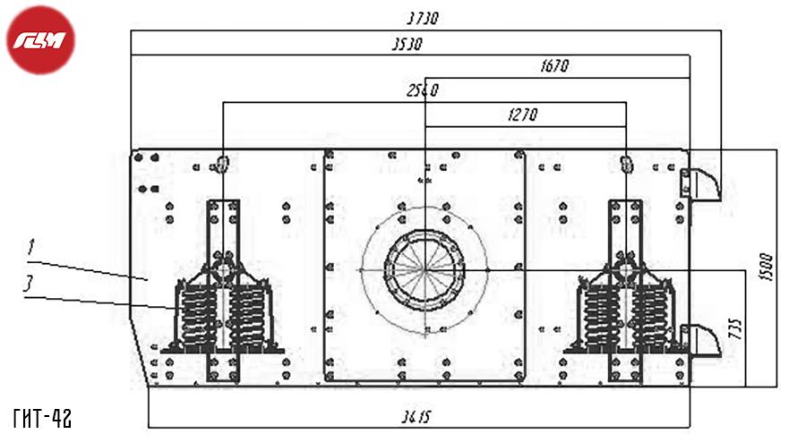 Грохот инерционный в Батайск щековая дробилка схема в Щербинка
